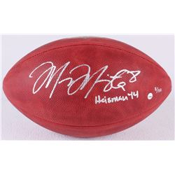 """Marcus Mariota Signed LE Official NFL Game Ball Inscribed """"Heisman '14"""" (Steiner COA)"""