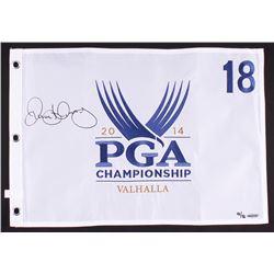 Rory McIlroy Signed LE 2014 PGA Championship Pin Flag (UDA COA)