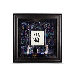 Lionel Messi Signed LE Barcelona 36x36 Custom Framed Tegata Handprint Display (UDA COA)
