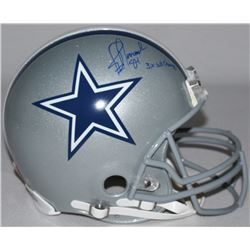 """Jay Novacek Signed LE Cowboys Full-Size Authentic Pro-Line Helmet Inscribed """"3X SB Champs"""" (Steiner"""