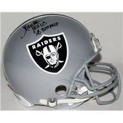 "Marcus Allen Signed Raiders Full-Size Authentic Pro-Line Helmet Inscribed ""HOF 03""  ""SB XVIII MVP"" L"