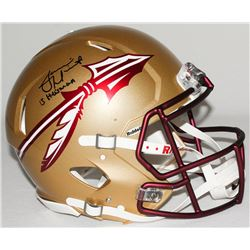 """Jameis Winston Signed Florida State Full-Size Authentic Pro-Line Speed Helmet Inscribed """"Heisman 13"""""""