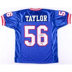"Lawrence Taylor Signed Giants Jersey Inscribed ""HOF 99"" (Radtke COA)"