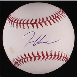 Tom Glavine Signed OML Baseball (Radtke COA)