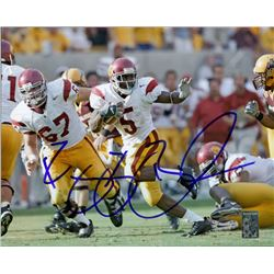 Reggie Bush Signed USC 8x10 Photo (Bush Hologram)