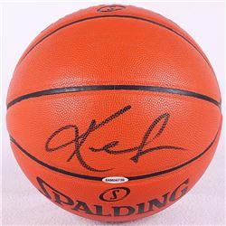 Kevin Love Signed NBA Game Ball Series Basketball (UDA COA)