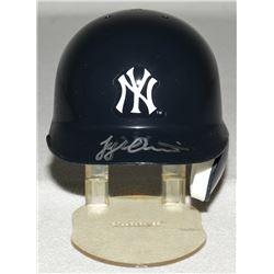 Tyler Austin Signed Yankees Mini-Helmet (JSA COA)
