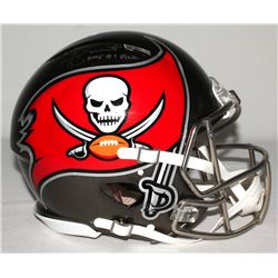 "Jameis Winston Signed Buccaneers Full-Size Authentic Pro-Line Speed Helmet Inscribed ""2015 #1 Pick"""