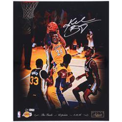 "Kobe Bryant Signed Lakers ""04/13/2016"" 16x20 Photo Limited Edition #1/24 (Panini COA)"