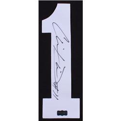 Chris Davis Jr. Signed Tigers Jersey Number #1 (Radtke COA)