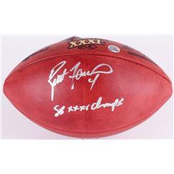 "Brett Favre Signed Super Bowl XXXI Official NFL Game Ball Inscribed ""SB XXXI Champs"" (Favre COA)"