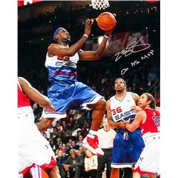 """LeBron James Signed 2006 All-Star Game 16x20 Photo Inscribed """"06 AS MVP"""" (UDA COA)"""