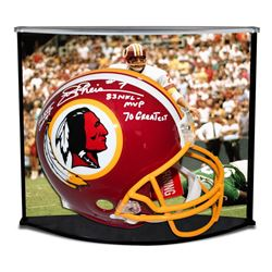 """Joe Theismann Signed LE Redskins Full-Size Authentic Pro-Line Helmet Inscribed """"SB XVII Champs,"""" """"83"""