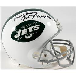 """Joe Namath Signed Jets Full-Size Helmet Inscribed """"Broadway"""" (PSA COA  Namath Hologram)"""