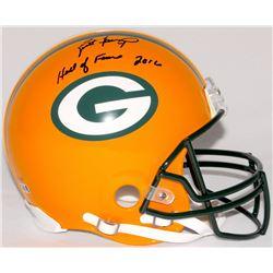 """Brett Favre Signed LE Packers Full-Size Helmet Inscribed """"Hall of Fame 2016"""" #34/444 (Favre Hologram"""
