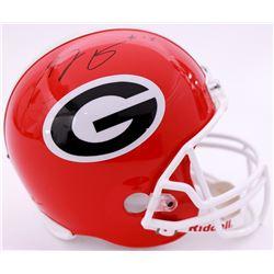 A. J. Green Signed Georgia Bulldogs Full-Size Helmet (Radtke COA)