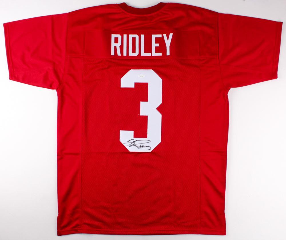 quality design 8568a 360ba Calvin Ridley Signed Alabama Crimson Tide Jersey (JSA COA)