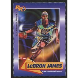 2003 Rookie Review #59 LeBron James