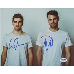 The Chainsmokers 8x10 Photo Band-Signed by Andrew Taggart  Alex Paul (PSA COA)