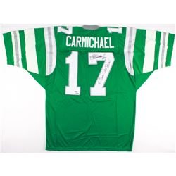 "Harold Carmichael Signed Eagles Jersey Inscribed ""4 Times - Pro Bowl"" (JSA COA)"