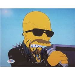 "Rob Halford Signed ""The Simpsons"" 8x10 Photo (PSA COA)"