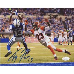 T. Y. Hilton Signed Colts 8x10 Photo (JSA COA)