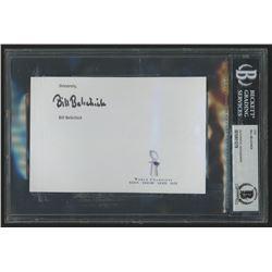 Bill Belichick Signed 4.5x6.5 Cut (Beckett Encapsulated)