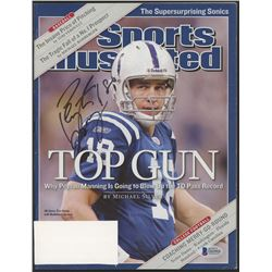 Peyton Manning Signed 2004 Sports Illustrated Magazine (Beckett COA)