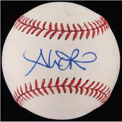 Alex Rios Signed OML Baseball (Fanatics Hologram  MLB Hologram)