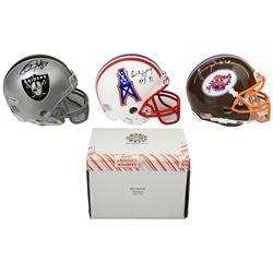Schwartz Sports Football Superstar Signed Mini Helmet Mystery Box - Series 5 (Limited to 100)