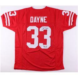"Ron Dayne Signed Wisconsin Badgers Jersey Inscribed ""99H"" (JSA COA)"