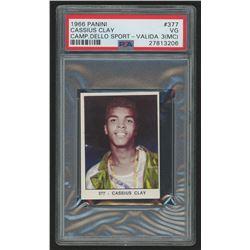 1966 Panini #377 Cassius Clay (PSA 3) (MC) RC