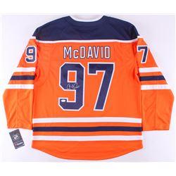 Connor McDavid Signed Oilers Jersey (JSA ALOA)