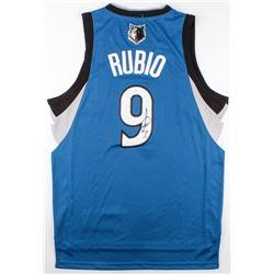 size 40 bb43c ddebb Ricky Rubio Signed Timberwolves Jersey (JSA COA)