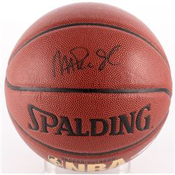 Magic Johnson Signed Basketball (PSA COA)