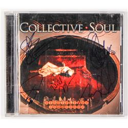 "Collective Soul ""Disciplined Breakdown"" CD Booklet Signed By (5) With Ed Roland, Dean Roland, Will T"