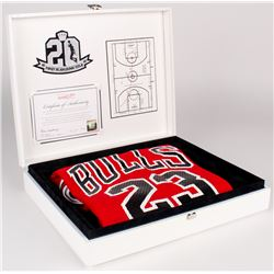 1987 Michael Jordan LE Bulls Authentic Mitchell  Ness Jersey (65/500)