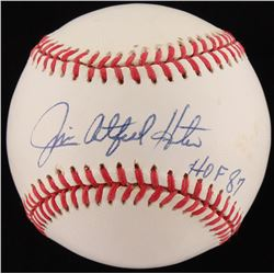 "Jim ""Catfish"" Hunter Signed OAL Baseball Inscribed ""HOF 87"" (JSA ALOA)"