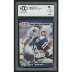 1990 Pro Set #685 Emmitt Smith RC (BCCG 9)