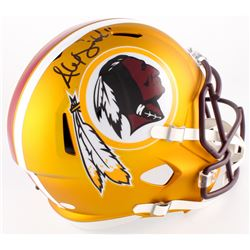 Alex Smith Signed Redskins Full-Size Blaze Speed Helmet (JSA COA)