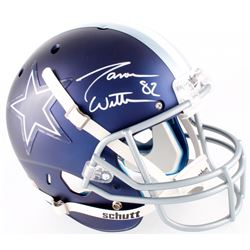 Jason Witten Signed Cowboys Custom Satin Blue Full-Size Helmet (JSA COA  Jason Witten Hologram)
