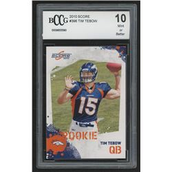 2010 Score #396 Tim Tebow RC (BCCG 10)