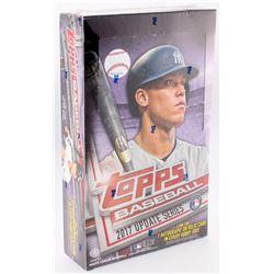 2017 Topps Update Series Baseball Unopened Hobby Box of (36) Packs
