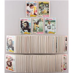 Lot of (675) 1982 Topps Football Cards with #331 Randy White AP, #242 Kellen Winslow IA, #189 Lester