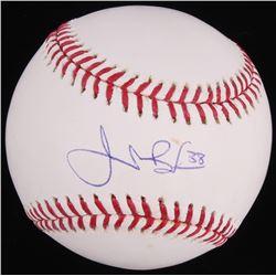 Jeremy Bonderman Signed OML Baseball (Fanatics Hologram  MLB Hologram)