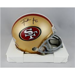 Frank Gore Signed 49ers Mini Helmet (Beckett COA)