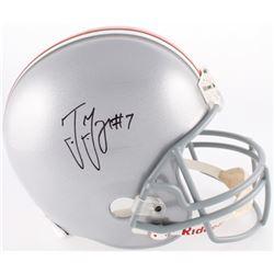 Ted Ginn Jr. Signed Ohio State Buckeyes Full-Size Helmet (JSA COA)