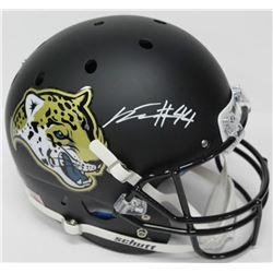 Myles Jack Signed Jaguars Full-Size Custom Matte Black Helmet (PROVA Hologram)
