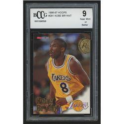 1996-97 Hoops #281 Kobe Bryant RC (BCCG 9)