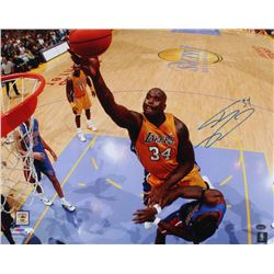 Shaquille O'Neal Signed Lakers 16x20 Photo (Schwartz COA)